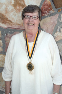 NANCY CASSON was part of a tennis doubles team that brought McMinn County High School its first state championship trophy in 1965.