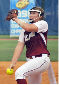 LEE UNIVERSITY freshman Taylor Moran pitched well, but the Lady Flames fell 2-0 to 10th-ranked West Florida, in the first of a best-of-three series in the NCAA Super Region playoff in Pensacola, Fla., Thursday.