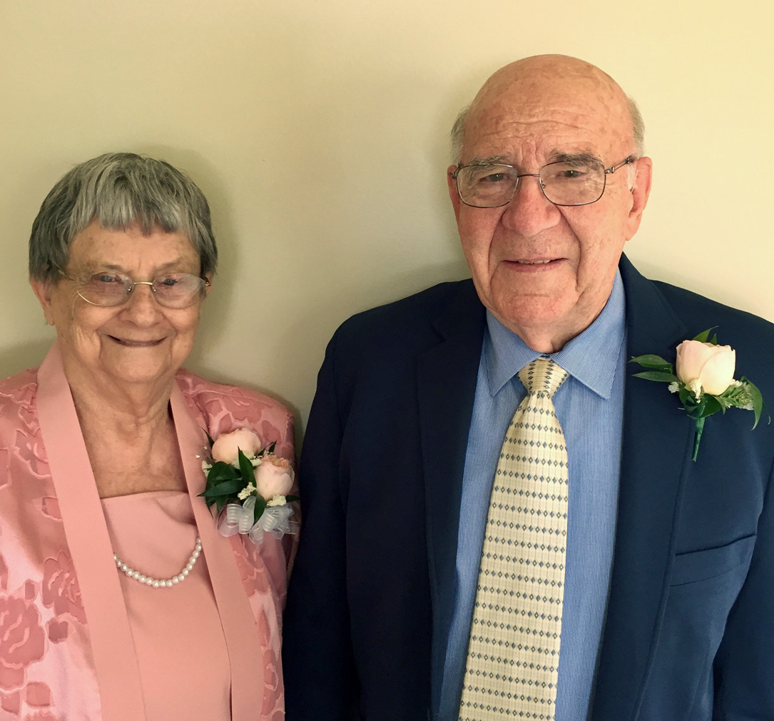 John and Nina Reese celebrated their 65th wedding anniversary.