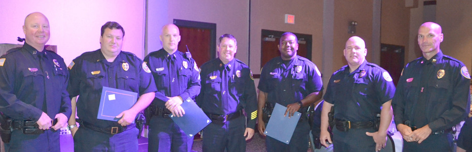 Educational Achievement Awards were were given employees who had attained permanent status with the Cleveland Police Department and in doing so has achieved an educational level of two years or more of college.