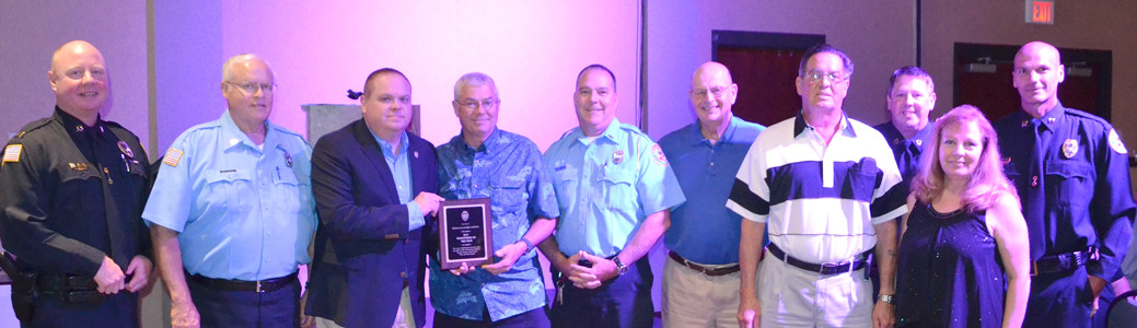 THE PUBLIC SERVICE UNIT of the Cleveland Police Department was recognized as Volunteers of the Year.