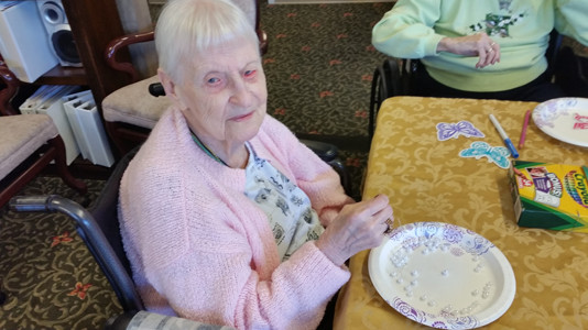 CORINNE FROST turns 101 today. Her vitality, wit and willingness to keep going is admired by the staff and residents at Morningside of Cleveland, where Frost continues to engage in games, crafts and express her sense of humor in comical ways.