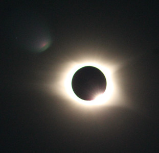 Joe Woods shared this eclipse photo.