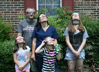 "WATCHING the solar eclipse became a family affair for Erik Hansel, his wife, Tracy, and their three daughters, Amber, 16, Ciera, 8, and Alexis, 7. ""It's a really awesome experience that we can share as a family,"" Erik said. ""The last time an eclipse came across America like this was in 1776. It's really something to be able to be alive, experience it and to have your family there with you. Not only that, but we're in the Southeast part of the country and we get to experience the totality of it! It's something you don't see every day!"""