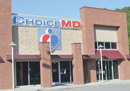CHOICE MD, located on Candies Creek Ridge Road, is the business mentioned in a federal court complaint as owned and operated by a local couple that authorities allege purchased properties in the area through the use of laundered money.