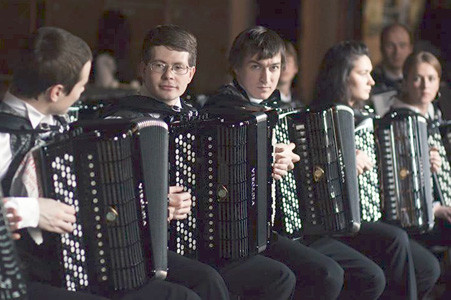 The Accordion Virtuosi of Russia will be featured in the February 2018 concert.