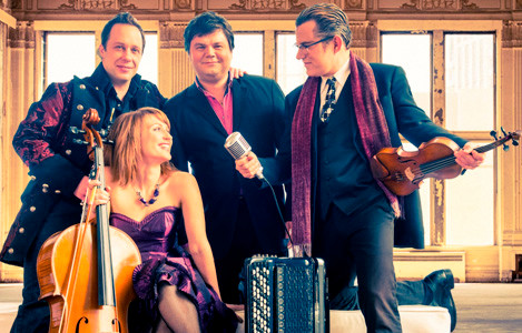 QUARTETTO GELATO will perform on Sept. 7  at Pangle Hall.