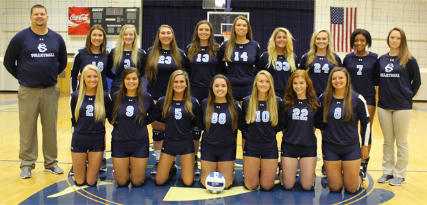THE CSCC LADY COUGARS volleyball team ran their record to 5-0 with a weekend win at the Georgia Northwestern Technical College tournament in Rossville, Ga.