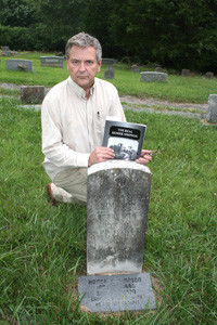 "DENNIS STEWART, at the gravesite of deceased relative Homer Simpson, said he wrote the book ""The Real Homer Simpson"" because he wanted people to know that Simpson was not a murderer. Readers can come to their own conclusion about how virtuous criminal conspiracy laws are, as well as the application in the case of Cleveland's most notorious former police chief, who turned bank robber in the 1920s. Simpson's story will be told by WRCB-TV channel 3 anchor Greg Glover at the Buzz Oaks theater on the Lee University campus in the new communications building. The presentation is part of the Spirits, Legends and Lore event on Oct. 13, at 7 p.m."