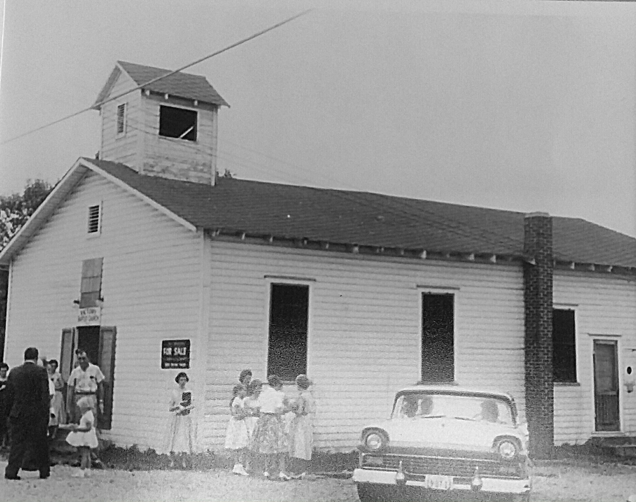 The original building for West Cleveland Baptist Church was built in 1942.