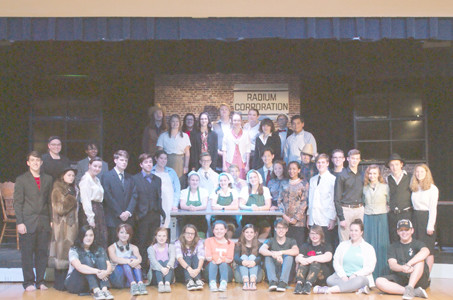 "The Cleveland High School Theater cast and crew of ""Radium Girls"" are preparing for shows beginning on Sept. 30 in the Betsy Vines Memorial Theater."