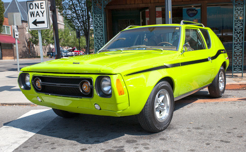 THE SEPTEMBER 2017 MainStreet Cruise-In took place in downtown Cleveland Saturday.   This bright, neon green 1976 Gremlin is one of the cars that made it out to the show.