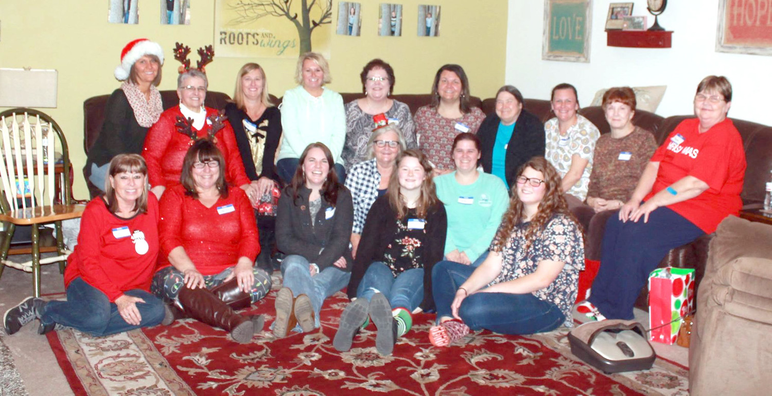 Parkway Baptist Church had  its annual sock exchange/Christmas party at the home   of Rhonda Jones.