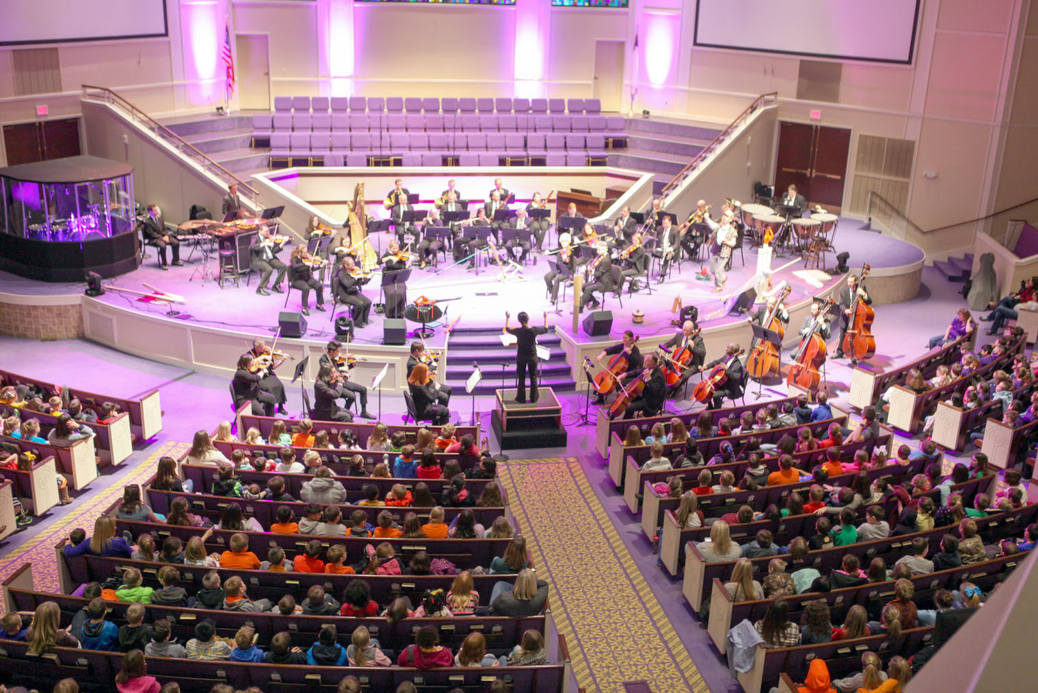 "THE CHATTANOOGA SYMPHONY performed its ""Compose Yourself!"" concert for Bradley County Schools and Cleveland City Schools on Friday at North Cleveland Church of God."
