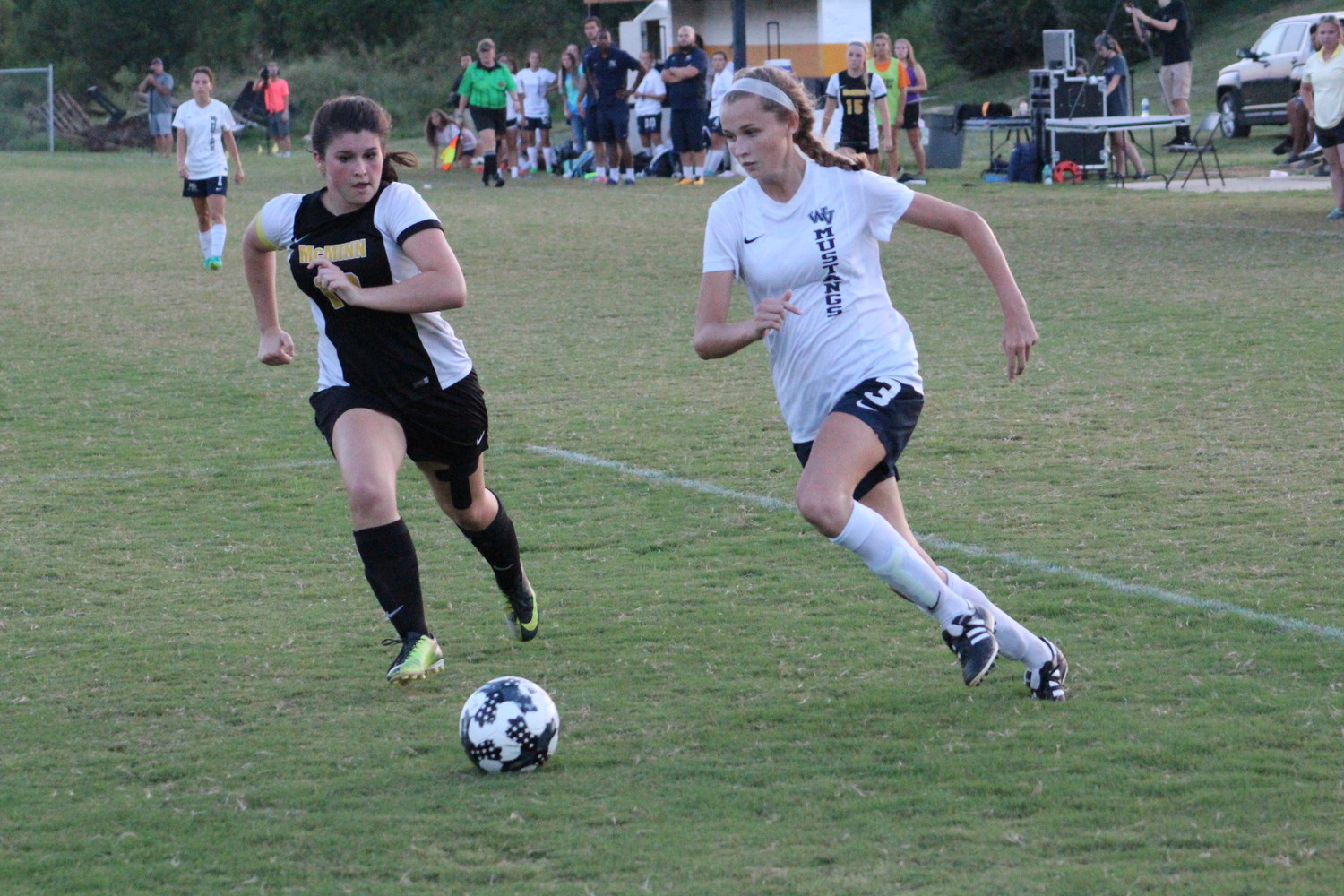 WALKER VALLEY senior Taylor Ellis has scored 25 goals this season and looks to help lead her regular season district championship squad to more success this postseason. The District 5-AAA soccer tournament begins Saturday night.