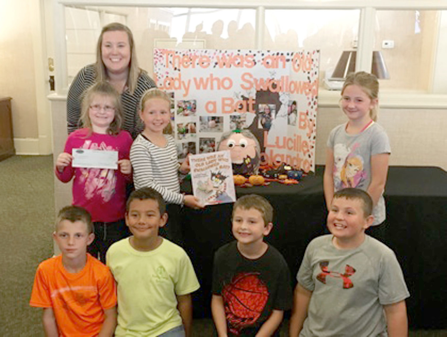 The 2016  first-place winner of Bank of Cleveland's Painted Pumpkin Contest was Lauren Suits's third-grade classroom at Park View Elementary.
