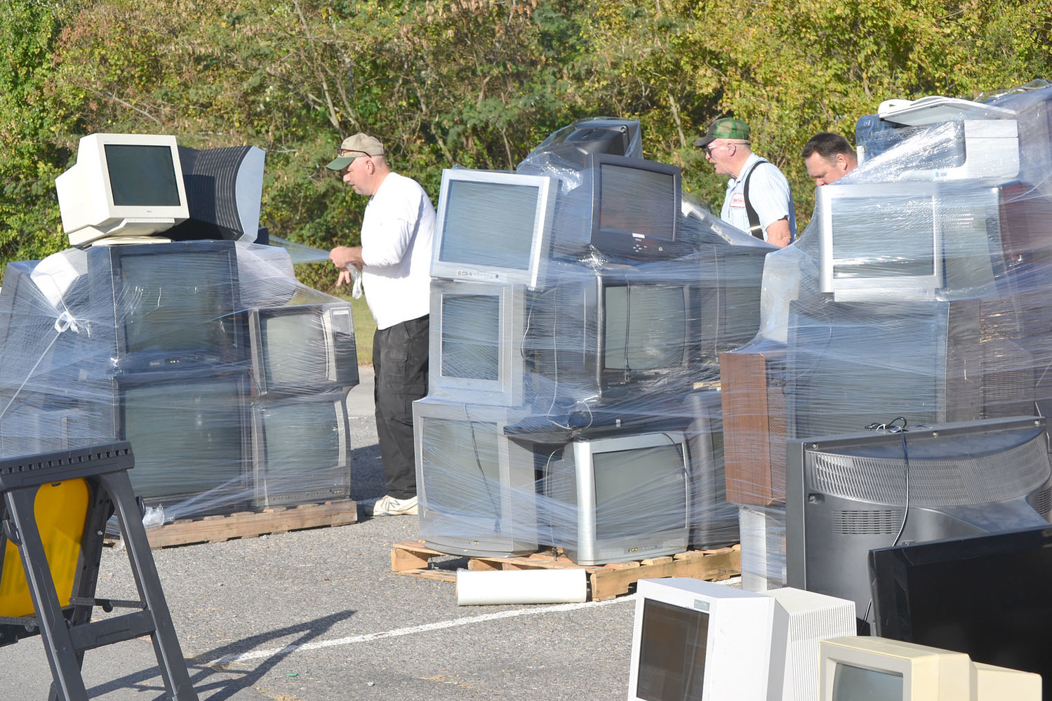 ELECTRONICS WERE the most popular item that was disposed of at Saturday's Household Hazardous Waste Collection Day.