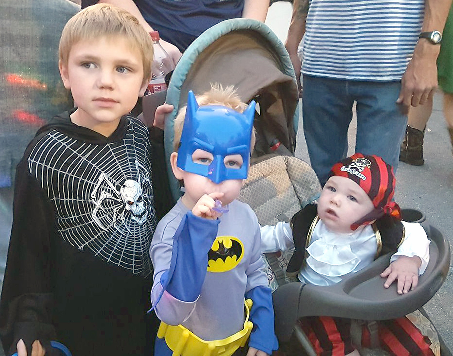 SUPERHEROES, pirates and spiders have been popular costumes for children attending the MainStreet Cleveland Downtown Halloween Block Party.