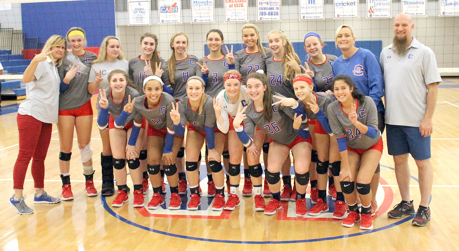 READY TO roll in their second straight TSSAA State Championships, the Cleveland High volleyball Lady Raiders will head to Murfreesboro Monday to prepare for Tuesday's opening matches. Coach Trish Flowers' squad are looking to improve on a Top 6 finish in last year's first state tournament berth in school history.