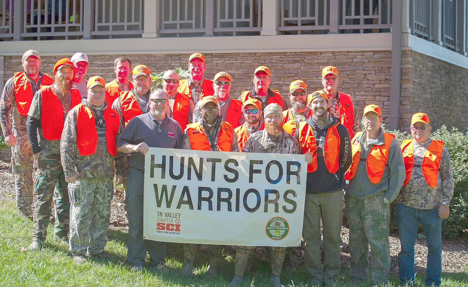 SEVERAL VETERANS AND SERVICEMEN participated in the recent Enterprise South Nature Park Wounded Warrior Hunt.