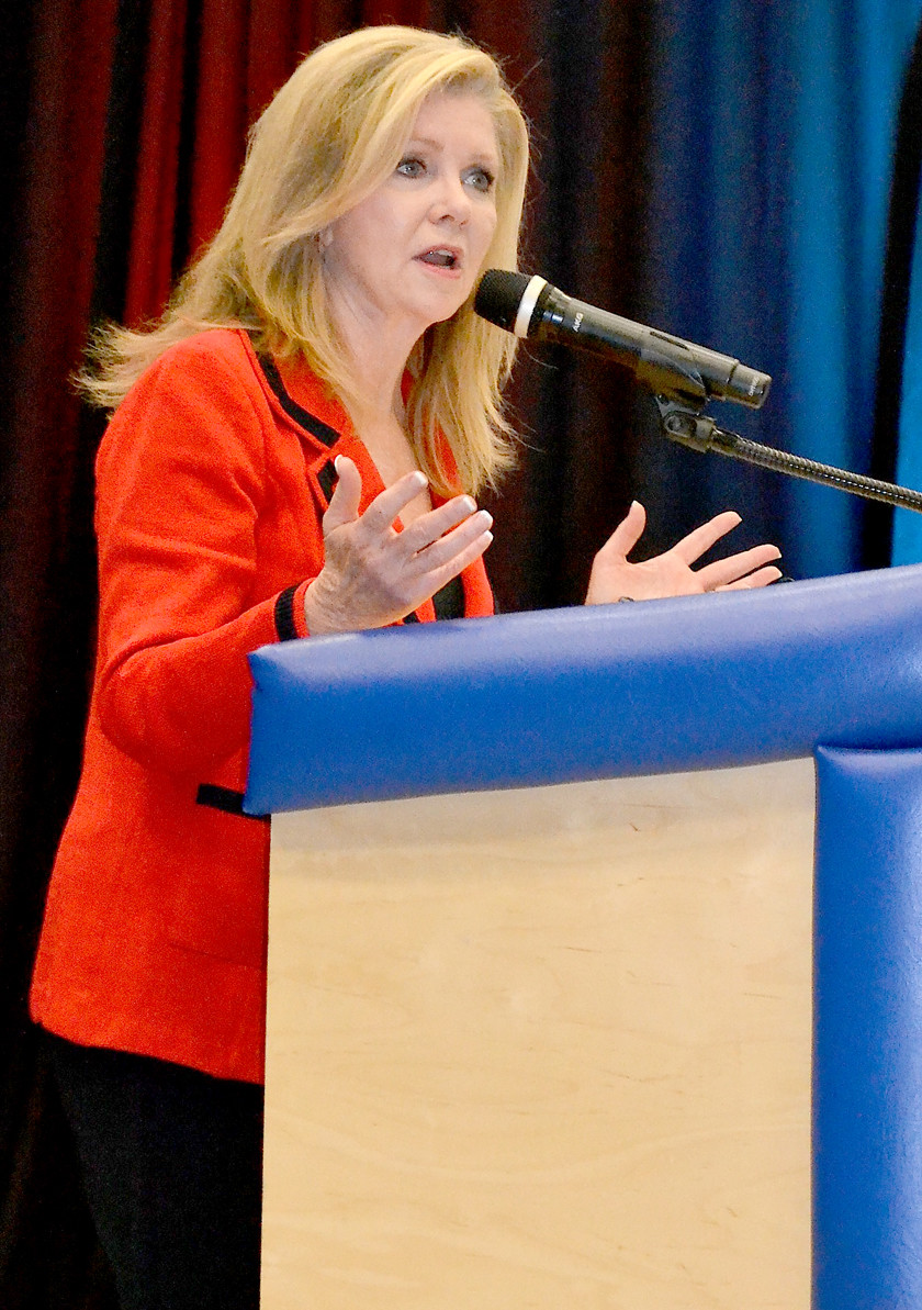 MARSHA BLACKBURN was the special keynote speaker at Saturday's Reagan Day Dinner at Cleveland High School.
