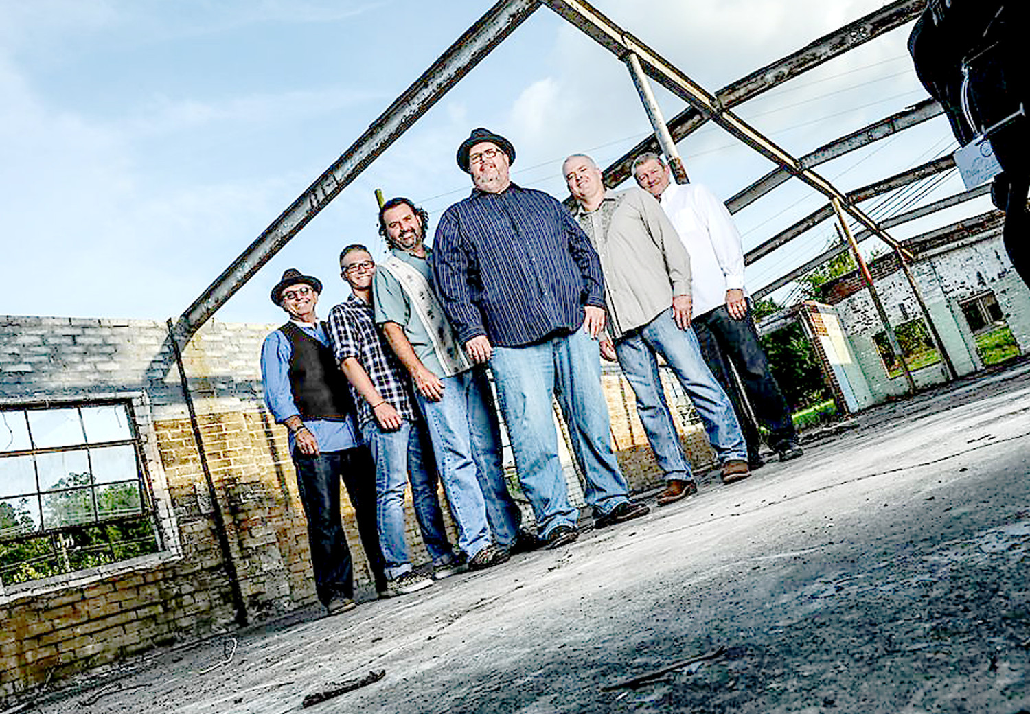 "Soul Talk band members include John Buckner (lead guitar and vocals), Randy Parker (acoustic guitar and vocals), Sandy Hankins (rhythm guitar and vocals), Scott McAllister (bass guitar and vocals), Paxton Bennett (drums), and Mickey ""Moose"" Hall (percussion)."