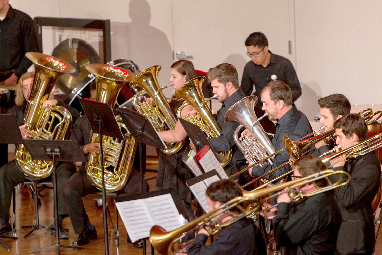 Lee University's School of Music Brass Choir will be in concert Tuesday at 7:30 p.m.