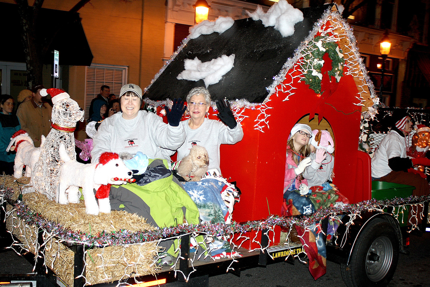 CHILDREN AND ADULTS all enjoy being parts of the MainStreet Cleveland Christmas parade, schedule this year for Saturday, Dec. 2.