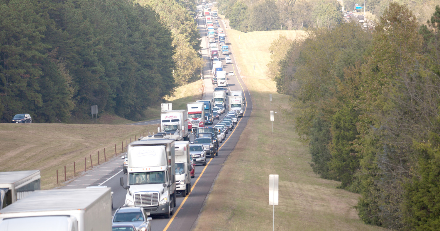 INTERSTATE 75, and other thoroughfares in Cleveland and Bradley County, will see an increase in traffic this week as thousands of motorists will be traveling to or from Cleveland, or through the area on their way to visit family and friends. Local officials urge motorists to drive safely and exercise patience when encountering traffic slowdowns.