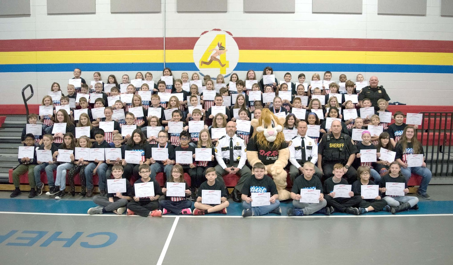 THE BRADLEY COUNTY SHERIFF'S OFFICE recently held a