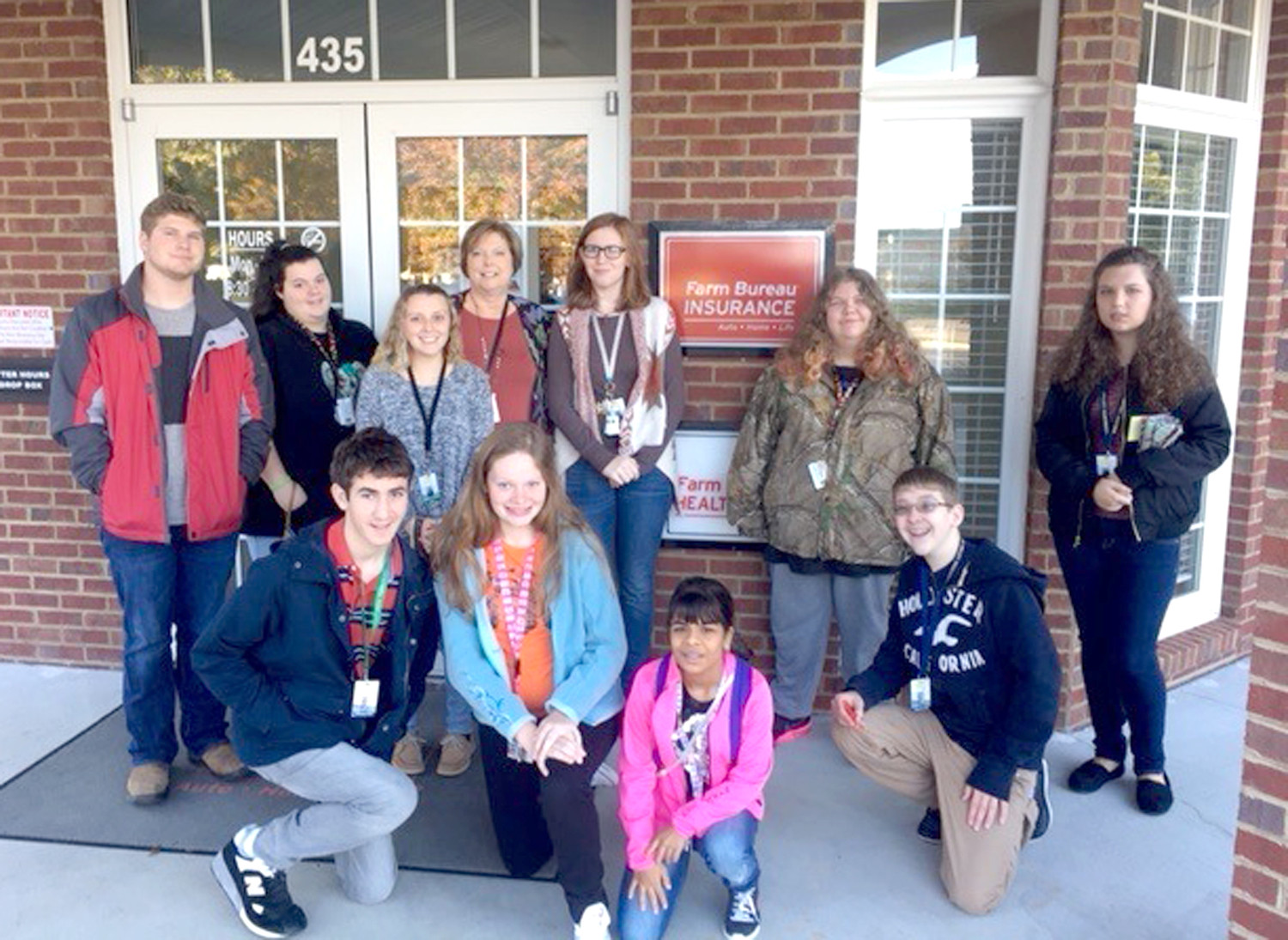 FARM BUREAU Insurance recently hosted a group of Walker Valley High School students on their industry tour.