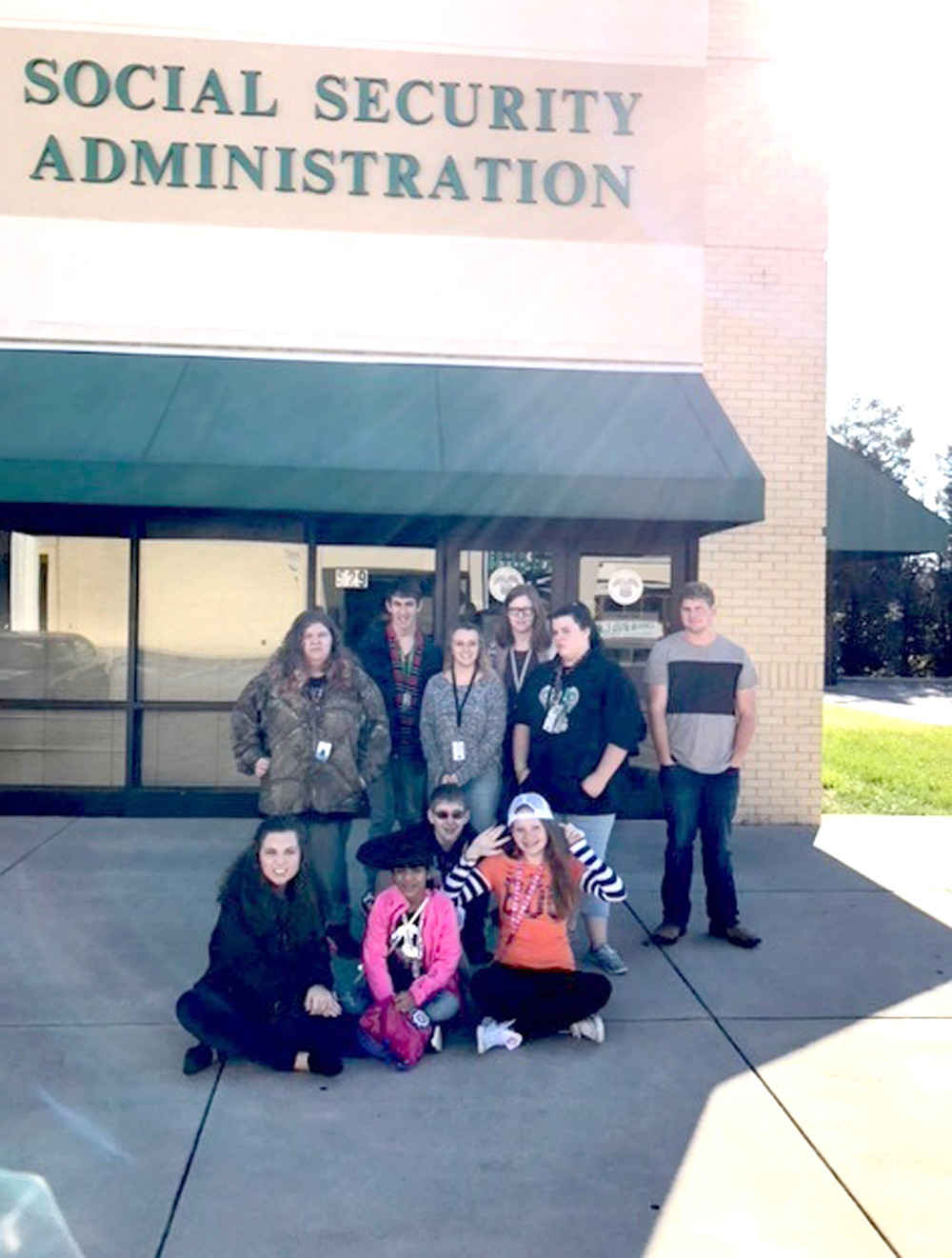 CLEVELAND'S Social Security Administration office was a stop on a field trip taken by Walker Valley High School students.