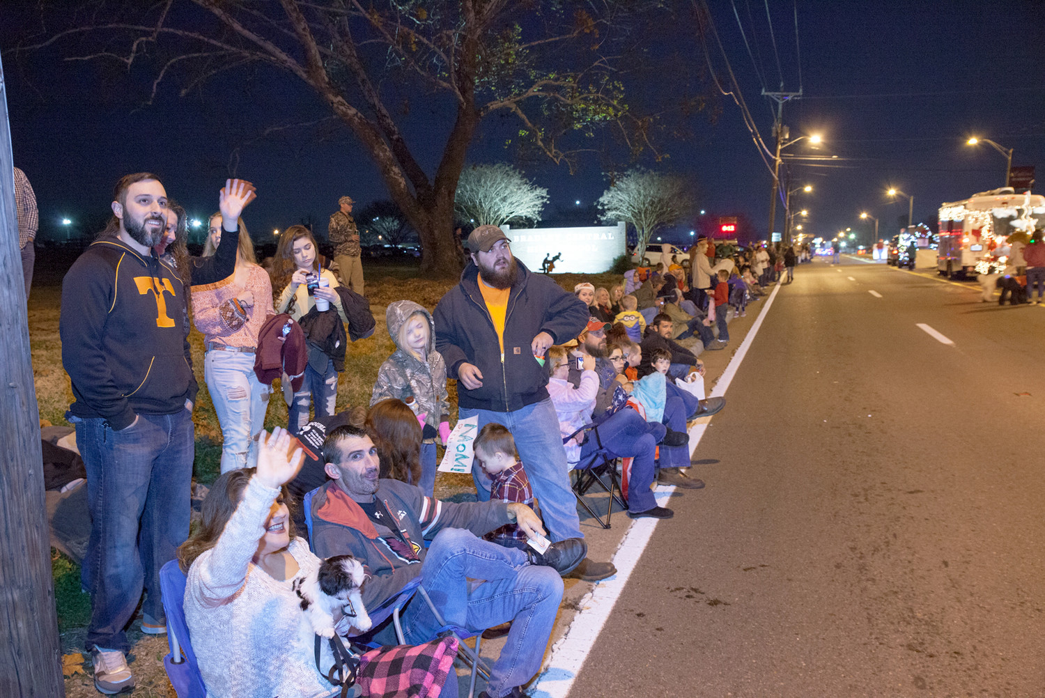 CLEVELANDERS CAME OUT IN droves to celebrate and take part in the Mainstreet Cleveland Christmas Parade.