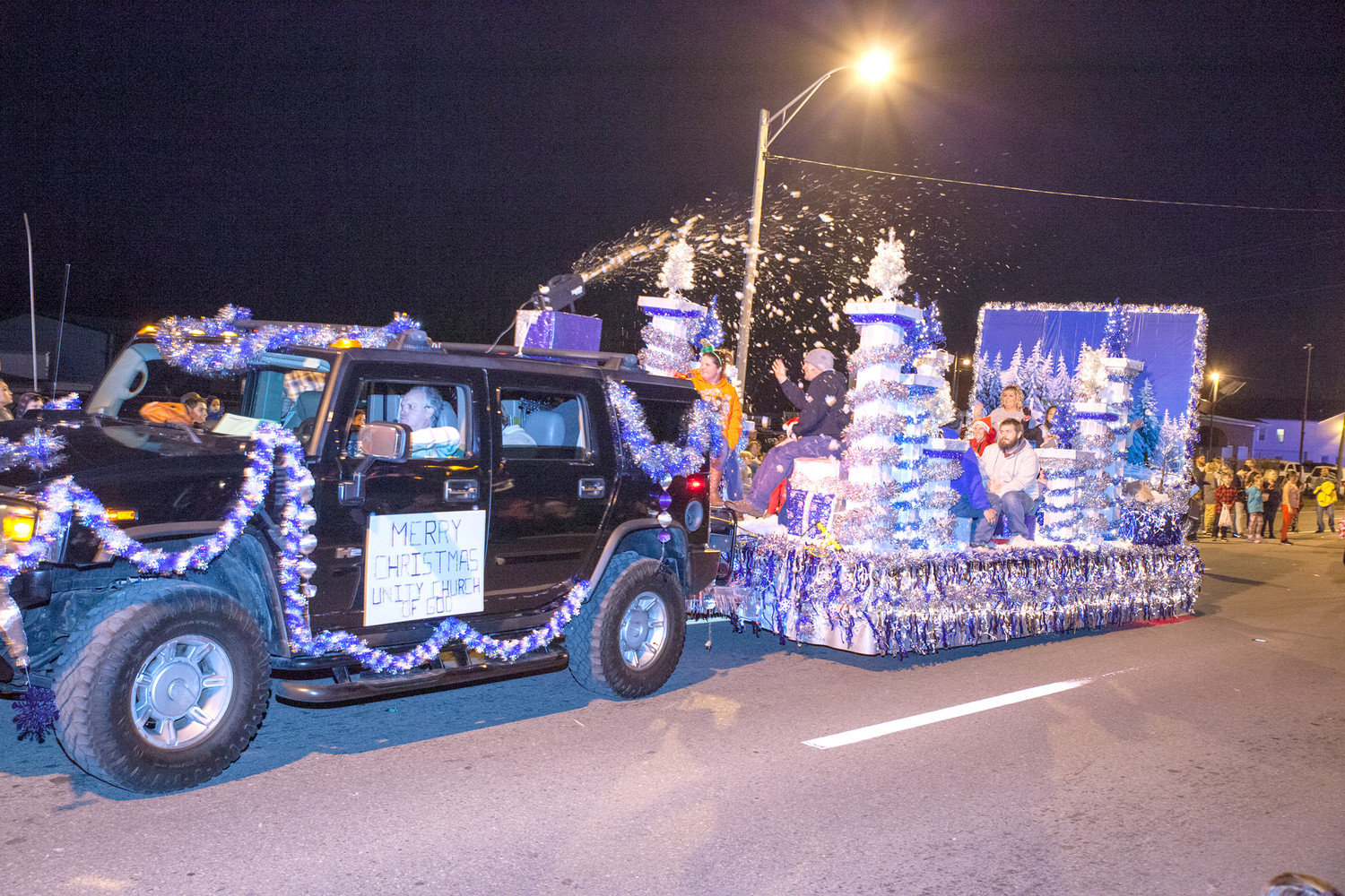 UNITY CHURCH OF GOD won the award for best Religious float in the Mainstreet Cleveland Christmas Parade.