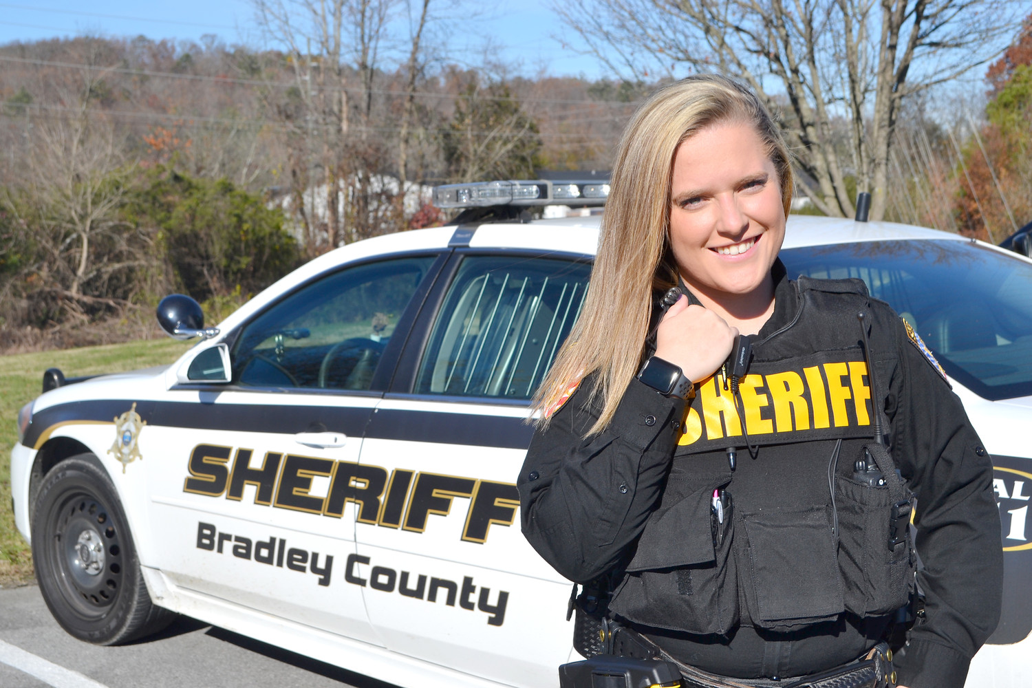KERSTEN FOWLER graduated from the police academy at Cleveland State Community, and is now a deputy with the Bradley County Sheriff's Office.