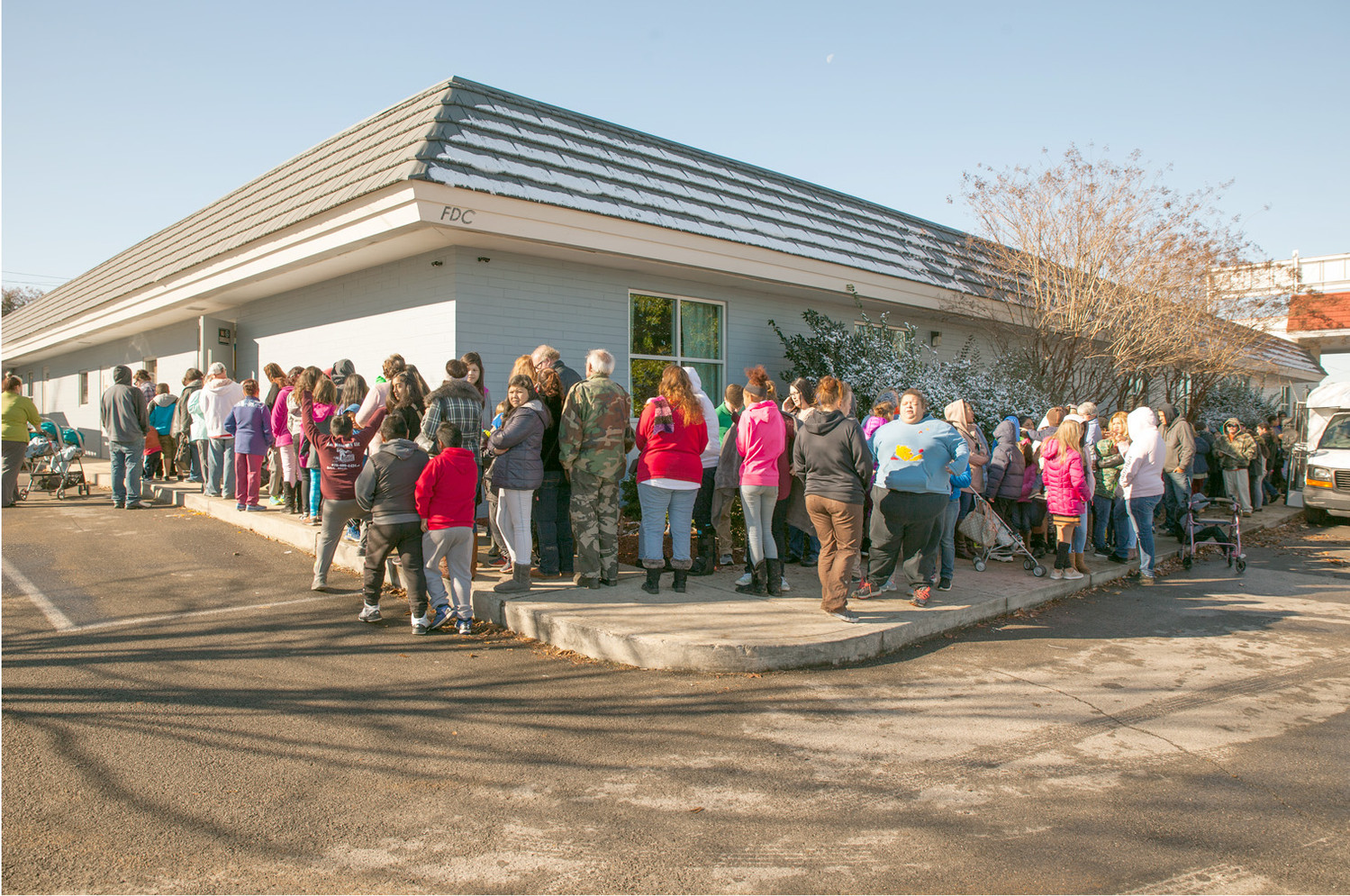 THE CATCH THE SPIRIT event was a hit, with a line well beyond the hall and wrapped around the building at lunch time.