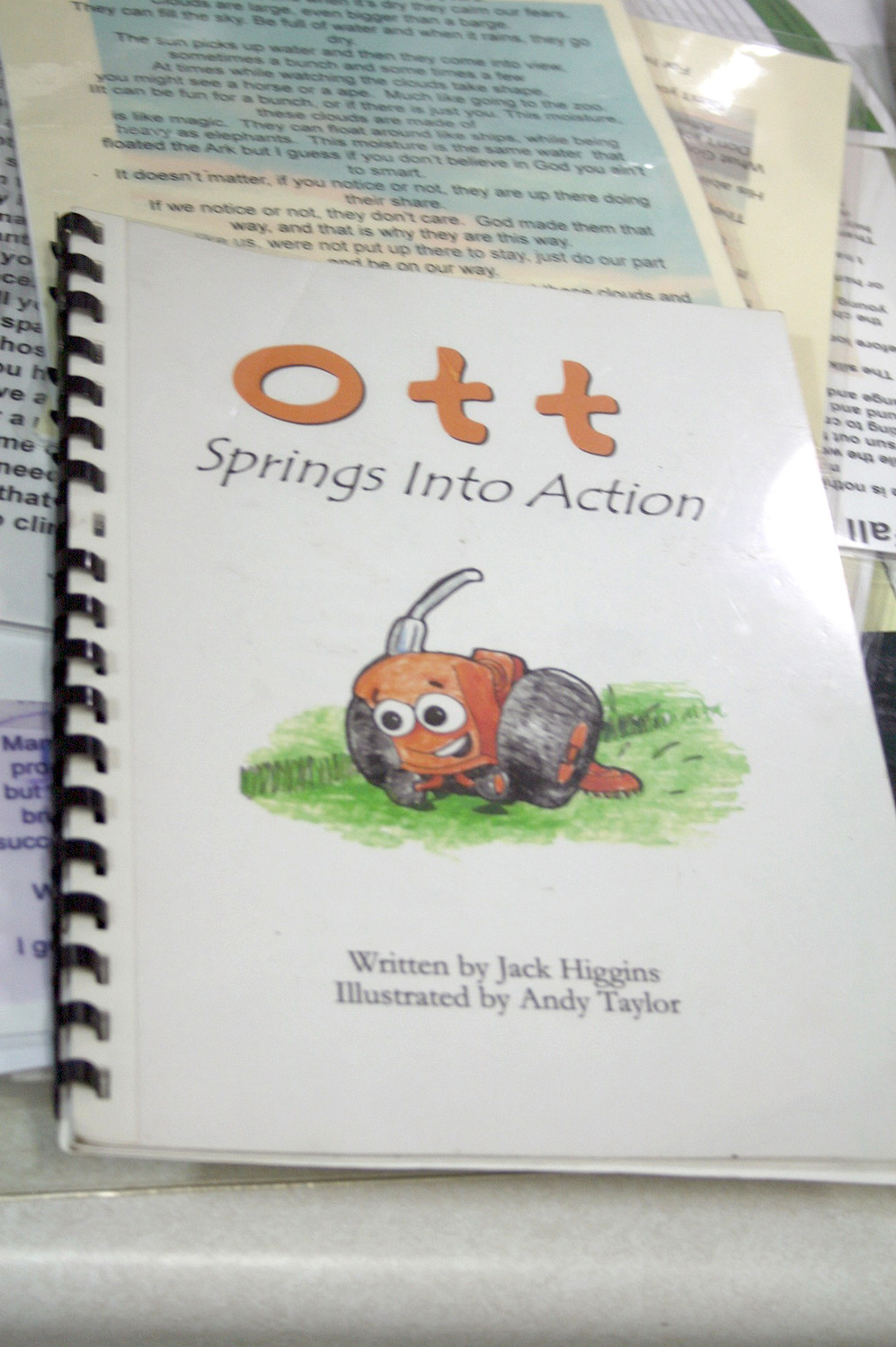 "'OTT SPRINGS into Action"" is one of the books written by Jack Higgins."