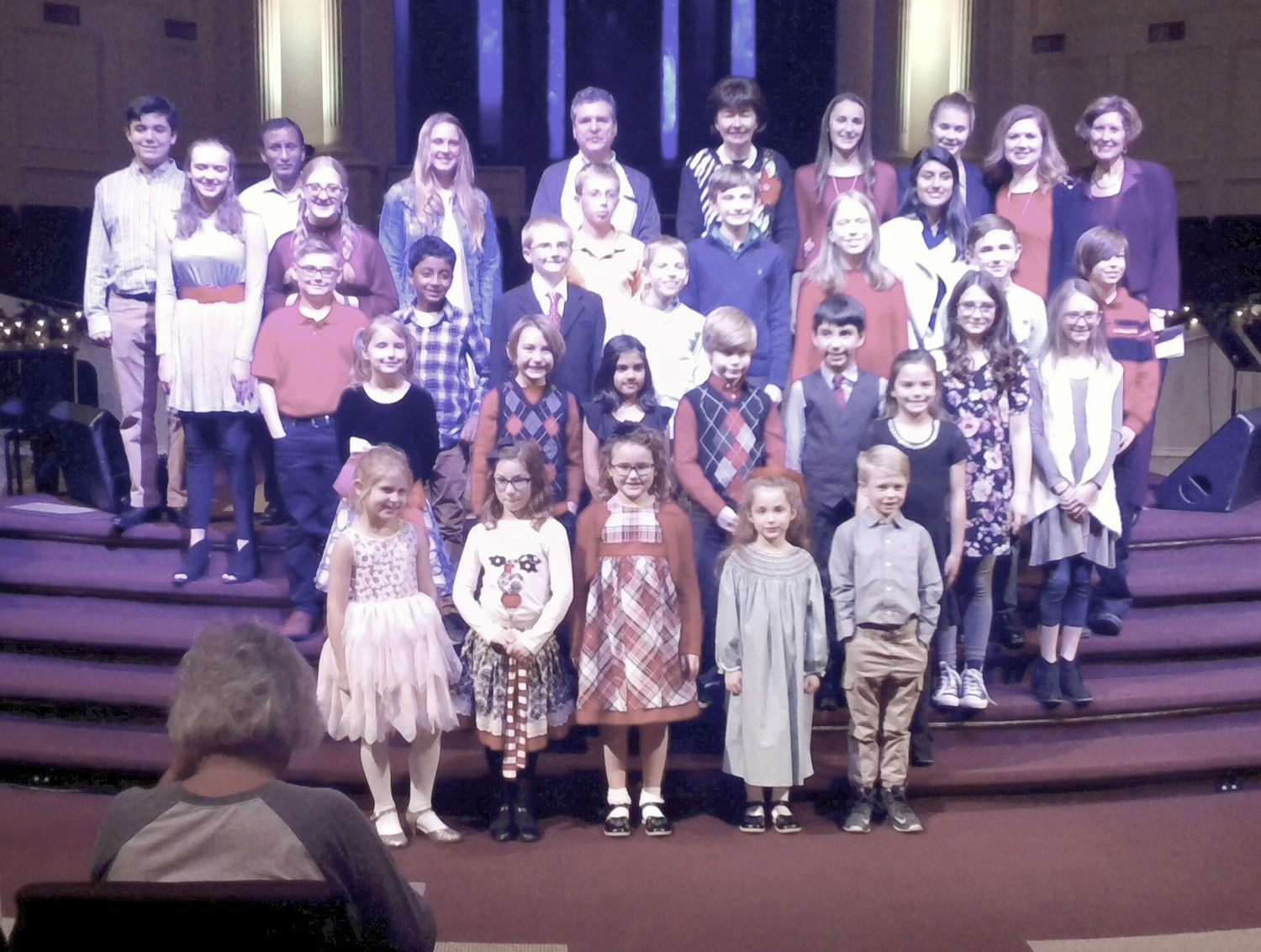 WESTMORE MUSIC Academy presented its annual Christmas recital during December at Westmore Church of God.
