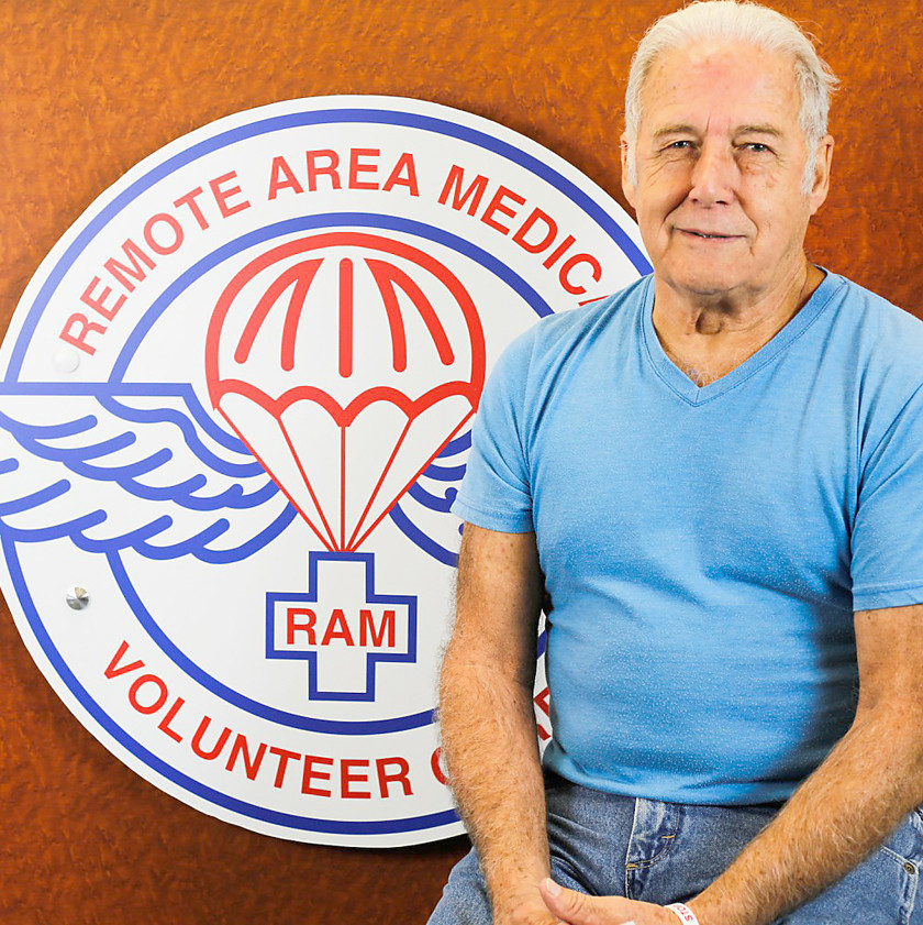 RON BREWER, an East Tennessee native and major officer of Remote Area Medical in Blount County, will be the guest speaker at a RAM fundraiser on Friday, Jan. 16, at St. Theresa of Lisieux Catholic Church. The event is to raised funds for a mini-RAM clinic at the church in April.