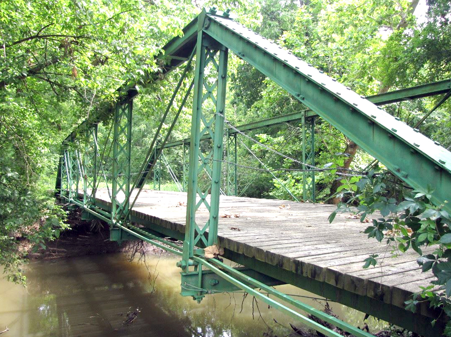 "This is the Dobbs Ford Bridge as photographed by Calvin Sneed and featured in his book, ""Building Bridges: From Our Past to the Future."" Plan are also for tbe bridge to be the centerpiece of the Candies Creek Greenway."