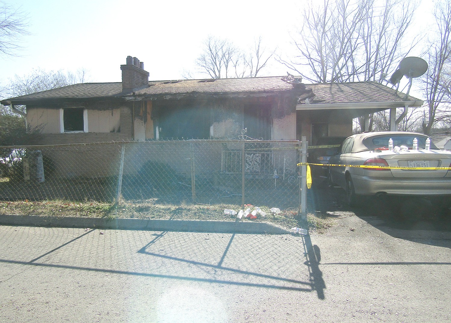 One of the residents of this house af 685 4th Street S.E. did not survive a fire which occurred Friday evening.