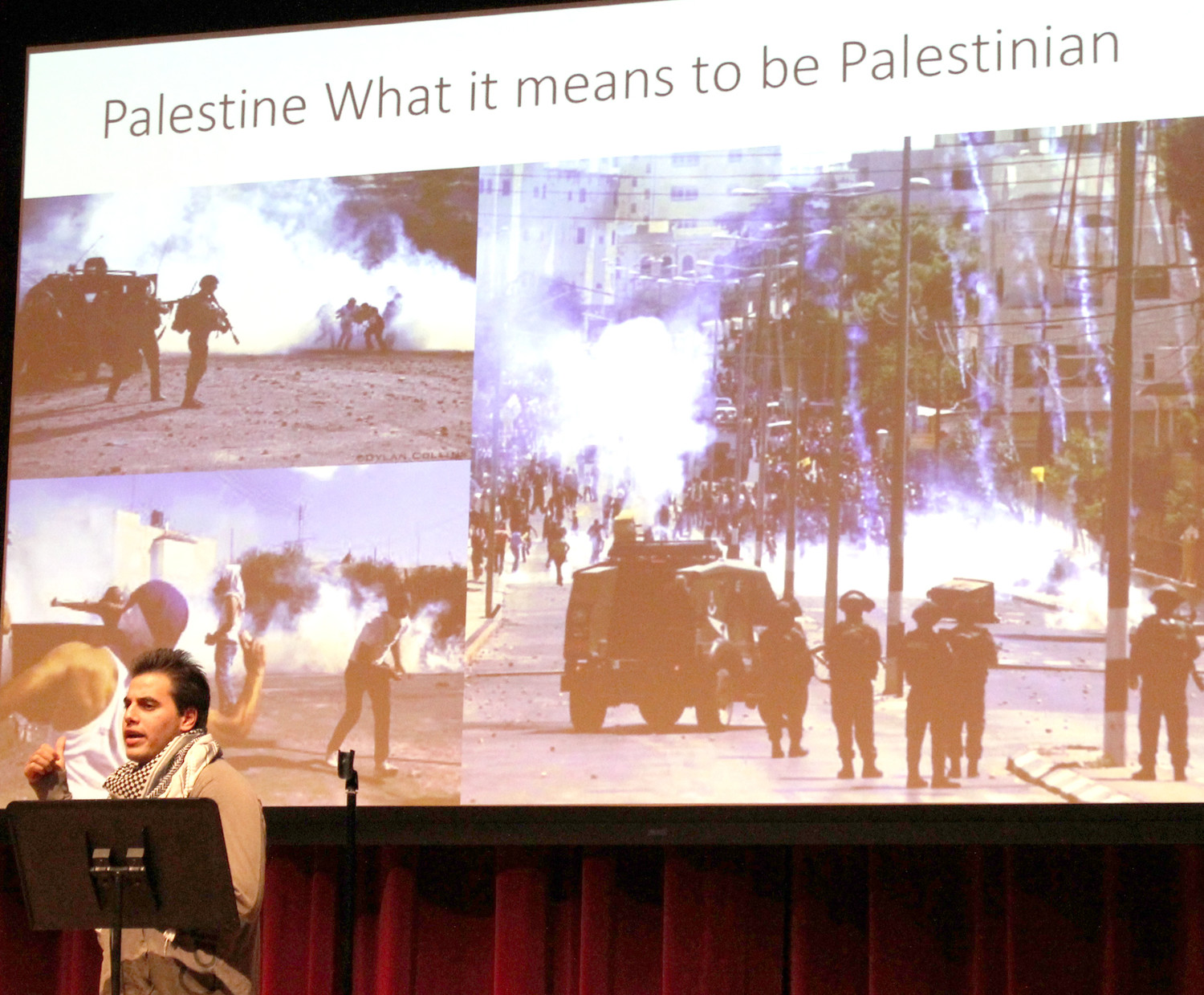 "WATHEQ ZBOUN, a Lee University student, spoke about his experiences growing up as a Palestinian in Bethlehem during the ""Be My Neighbor"" event hosted at the university Friday night by the Student Leadership Council and the Diversity Council."