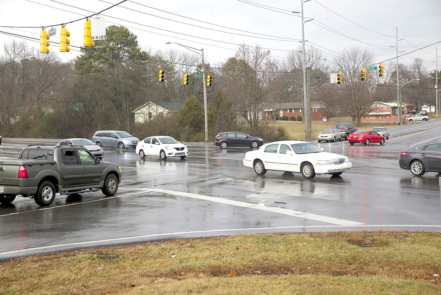 MOTORISTS will soon see relief at the intersection of Peerless Road and 25th Street, as part of the city's long list of road improvements set for this year.