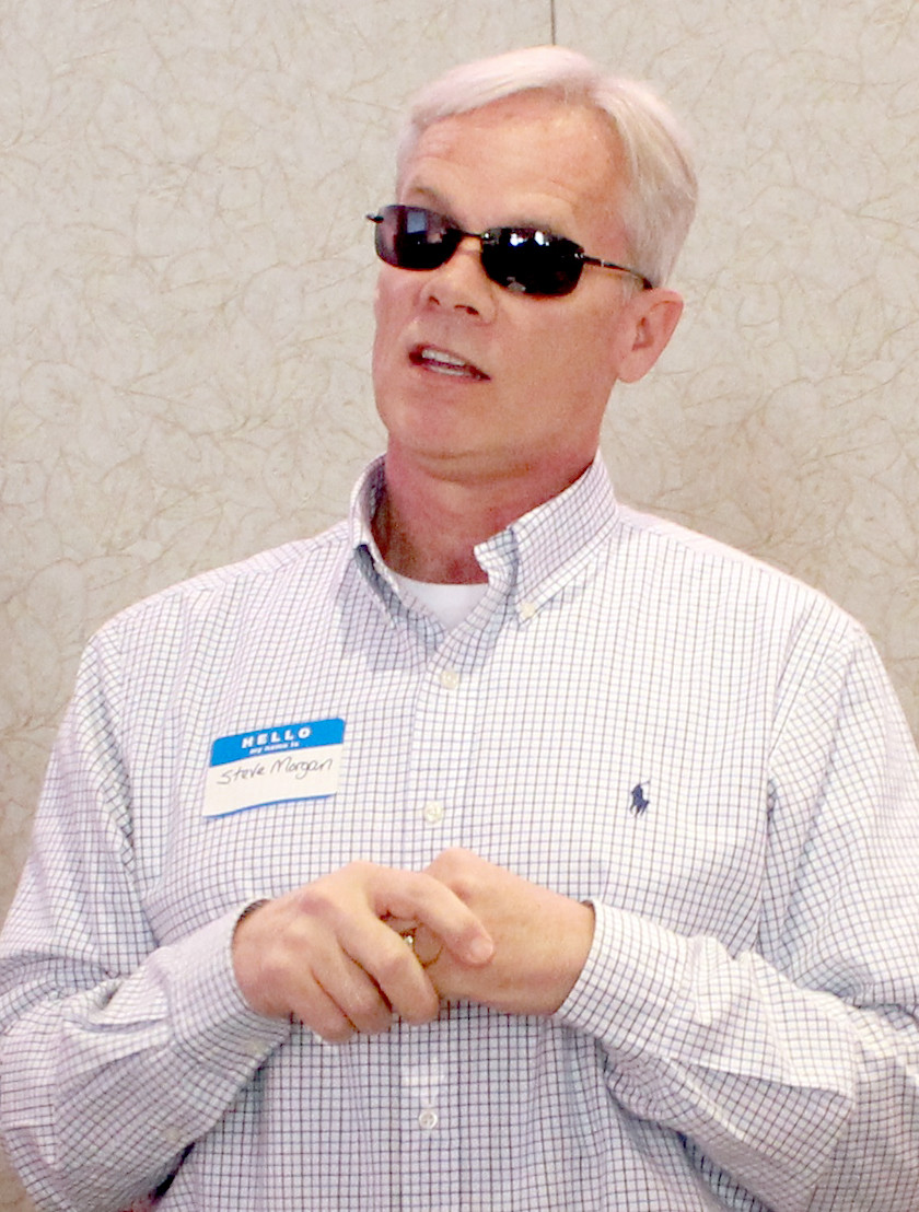 Cleveland Board of Education member Steve Morgan tells of his plans to open a bank account for donations for a treatment center in Bradley County.