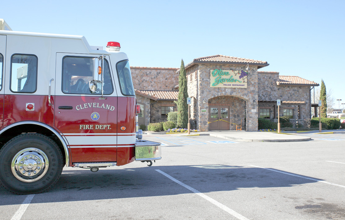 the cleveland fire department was one of the agencies that responded to the olive garden restaurant - Olive Garden Cleveland Tn