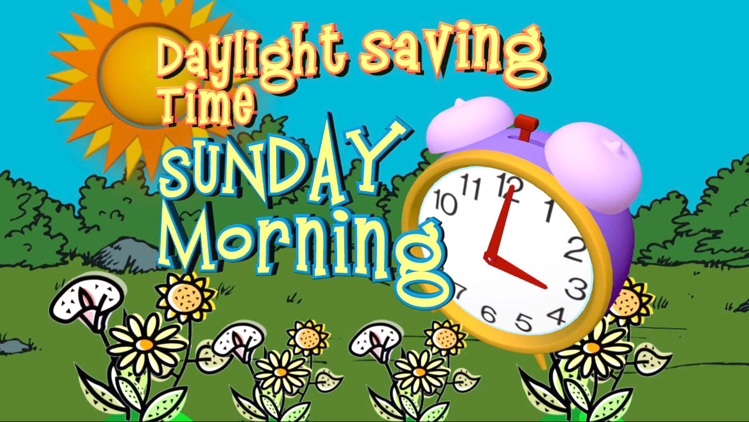 Spring Ahead - Daylight Saving Time To Return
