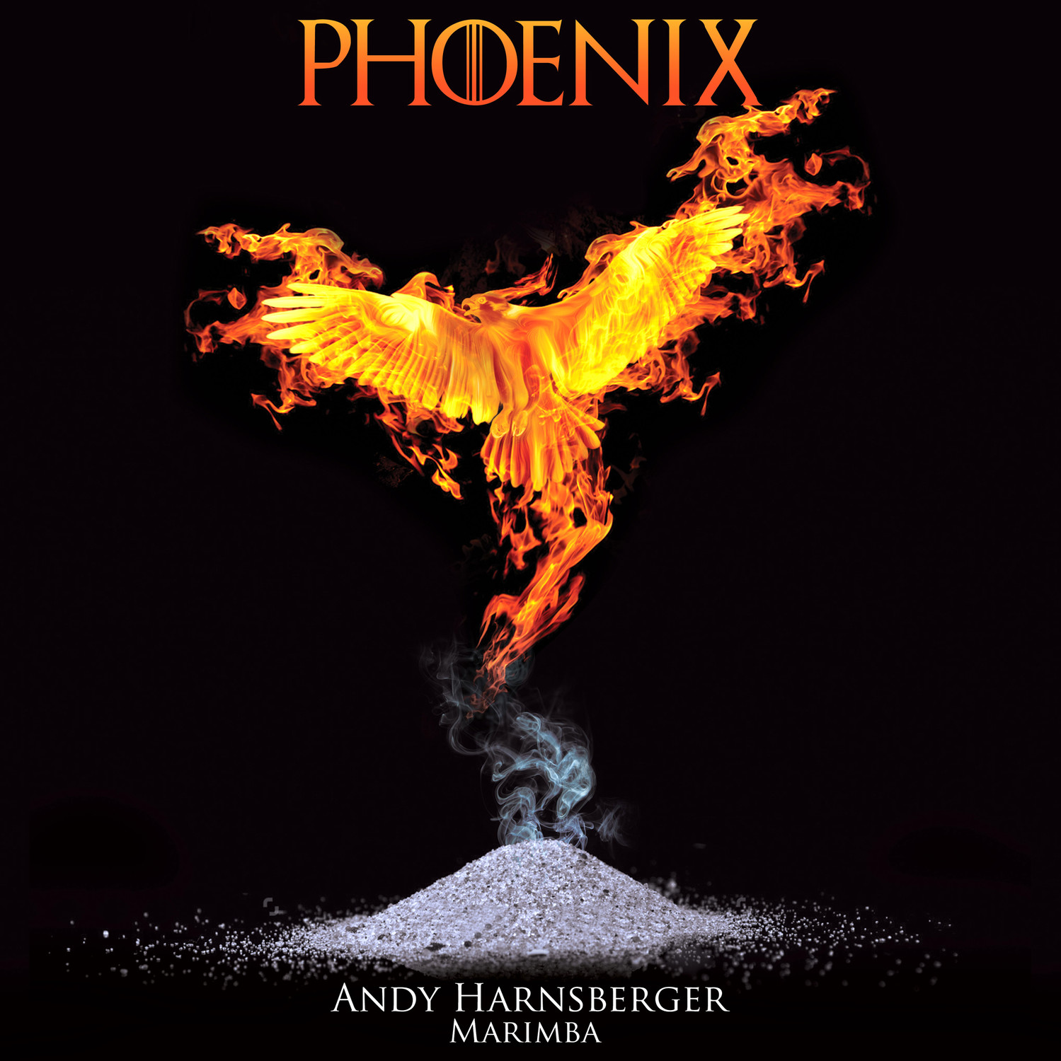 "Dr. Andy Harnsberger's new CD, ""Phoenix"" is, he said, based on his own overworking, burnout and eventual return to his passion, marimba."