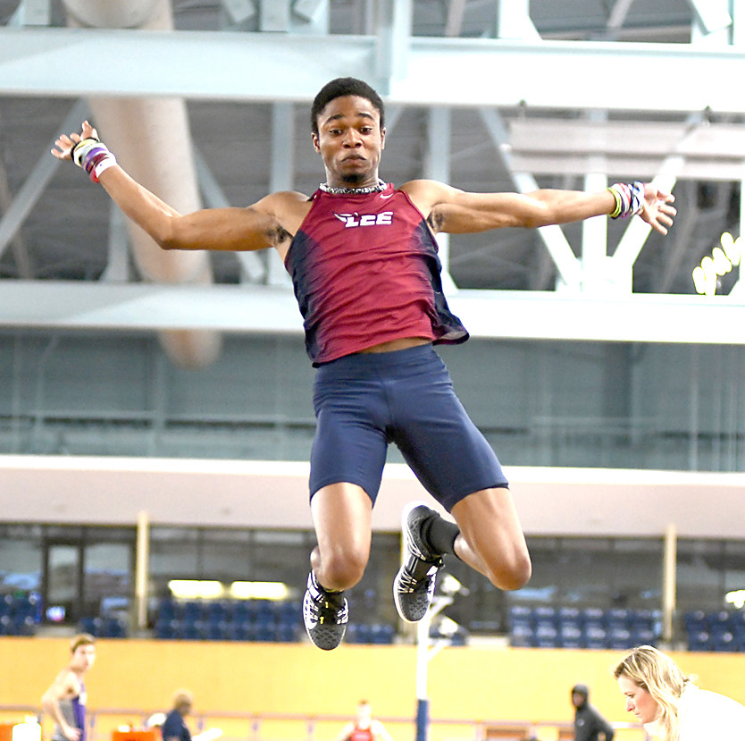 JOSIAH BROOKS recorded a triple jump of 15.35 meters, setting a Lee record at the NCAA Division II Indoor Track & Field Championships, in Pittsburg, Kan.