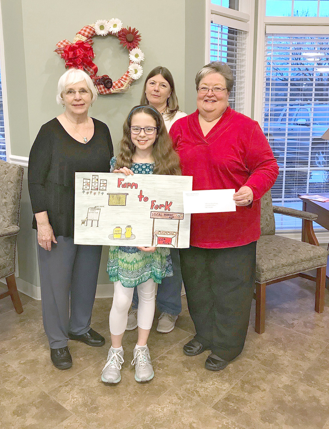 Third Place – Madalyn Dauphinais – Hopewell Elementary.