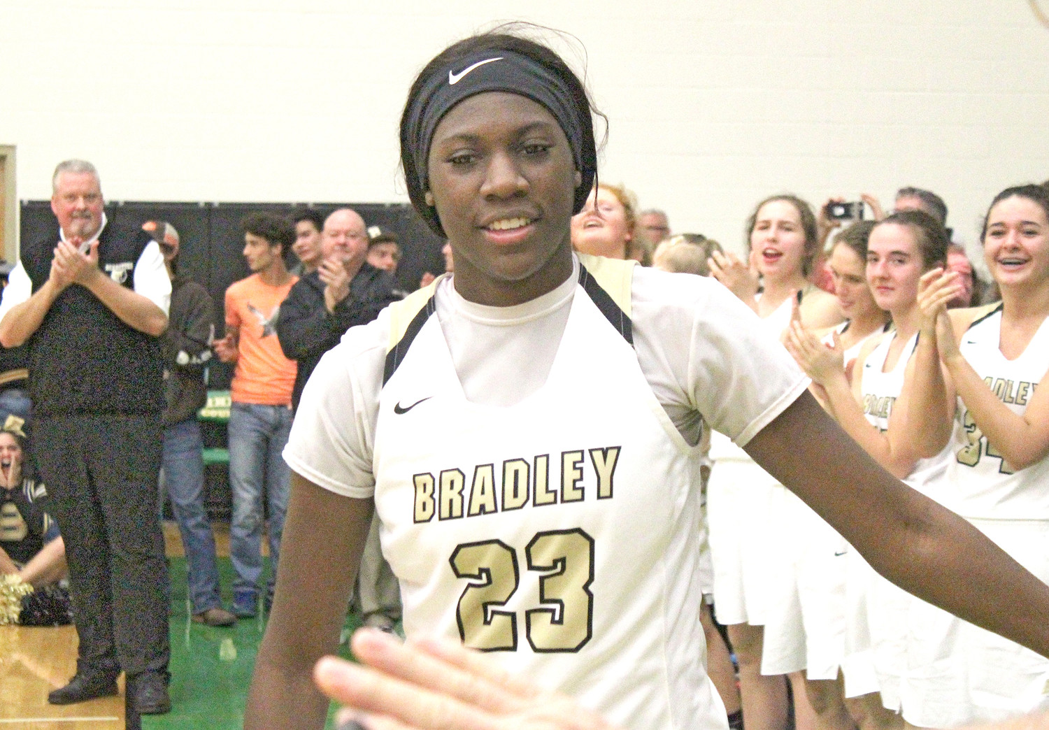 BRADLEY CENTRAL standout Rhyne Howard (23) is in New York today to play in the Jordan Brand Classic, while her teammates have accepted an invitation to play in the Nike Tournament of Champions in Phoenix this December.